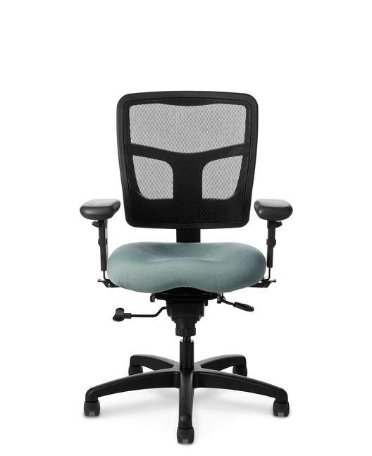 Office Master YS74 YES Series Mesh Mid Back Chair