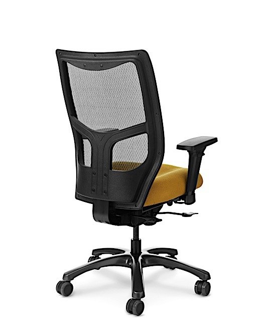 Back View of Office Master YS78 Mesh Back Chair