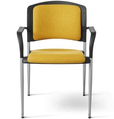 Office Master SG3B Ergonomic Reception Area Stackable Side Chair