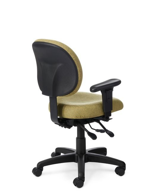 Back View - CL44EZ Small Ergonomic Task Chair by Office Master