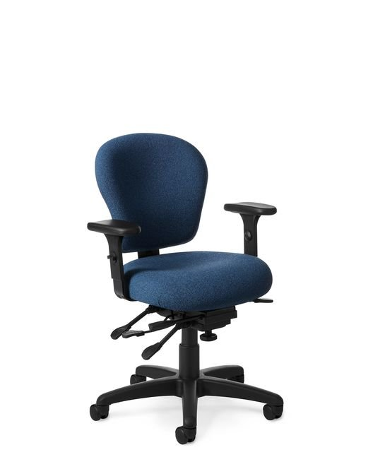Side View- Office master PC53 Petite Chair
