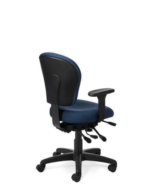 Back View - Office Master PC53 Small Build Chair