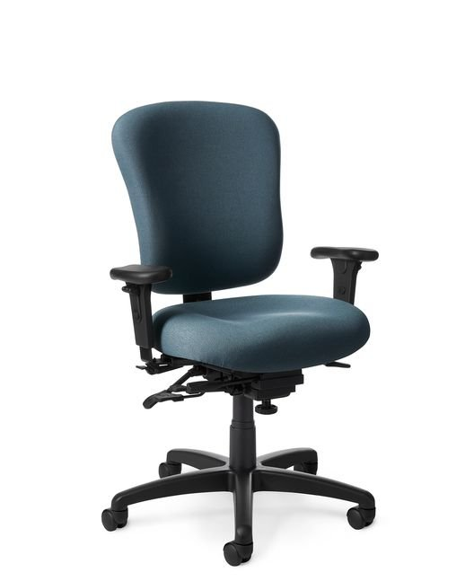 Side View - Office Master PC55 Medium Build Ergonomic Task Chair