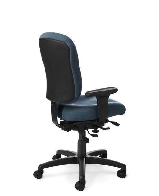 Back View - Office Master PC55 Ergonomic Office Chair