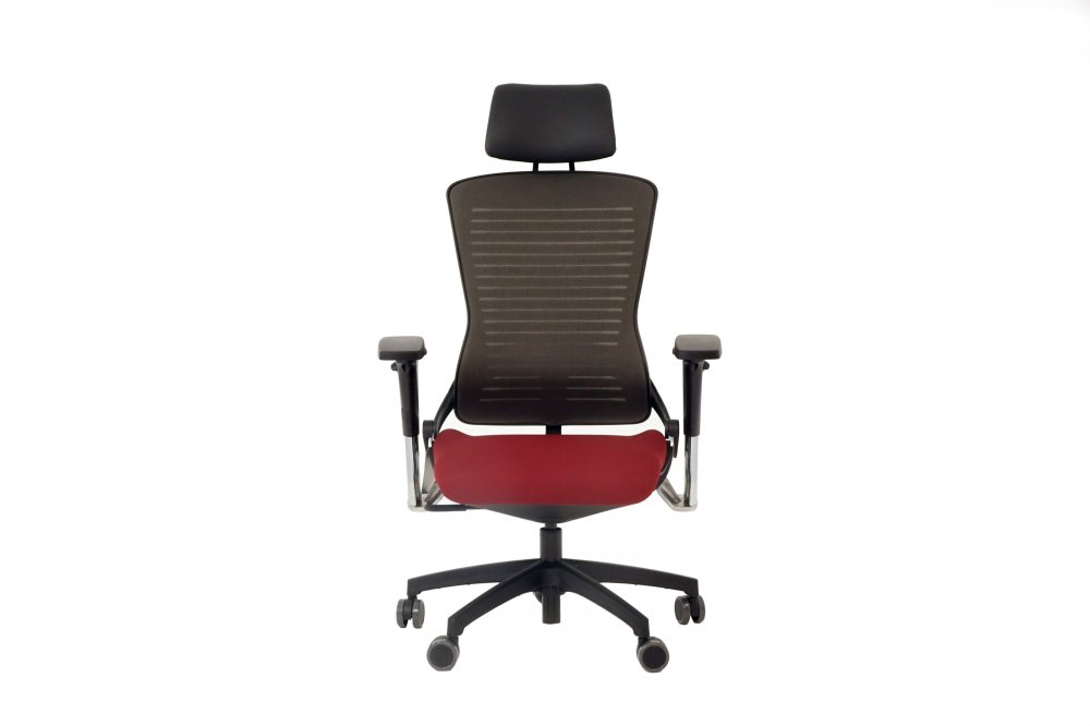 Gaming Chair ED-OM5-EX with Mesh Back Upholstery and Headrest