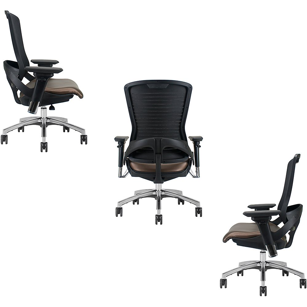 Side and Back View of ED-OM5-EX Gaming Chair by Office Master