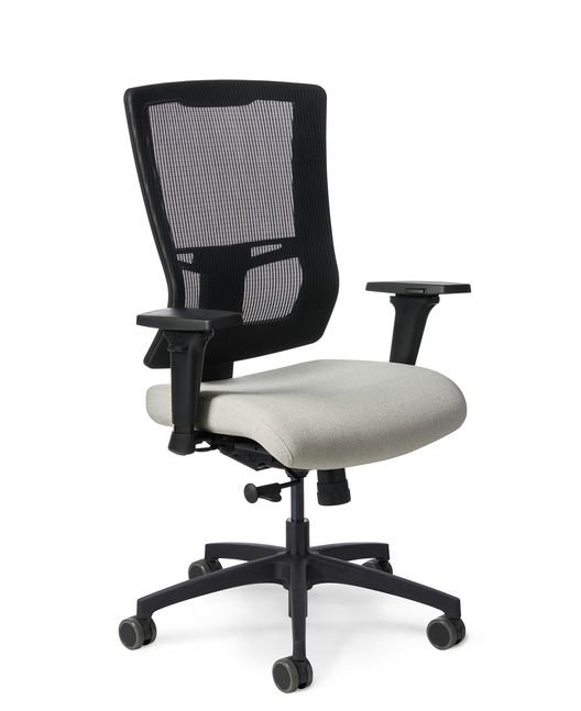 simple office chair. Side View - Office Master Affirm AF508 Ergonomic Task Chair Simple H