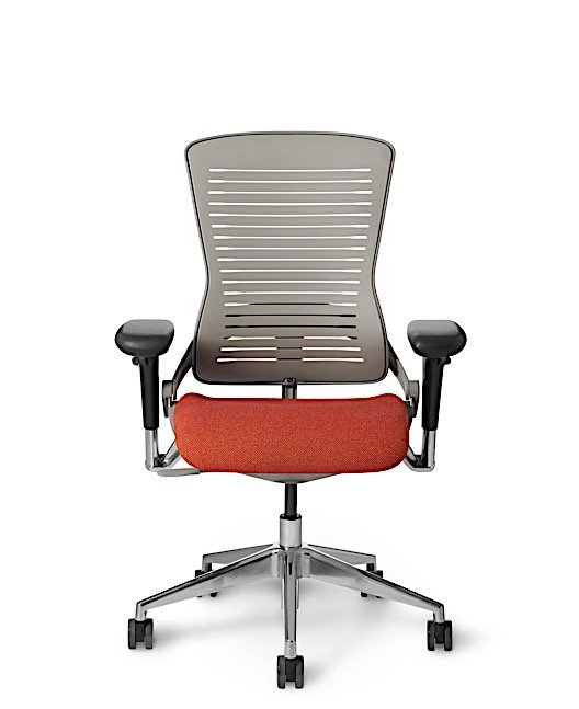 OM5-GXT Palladium Grey Tall Back Chair by Office Master
