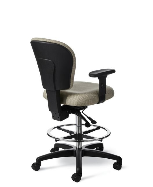 Back View - Office Master CL47 Task Chair