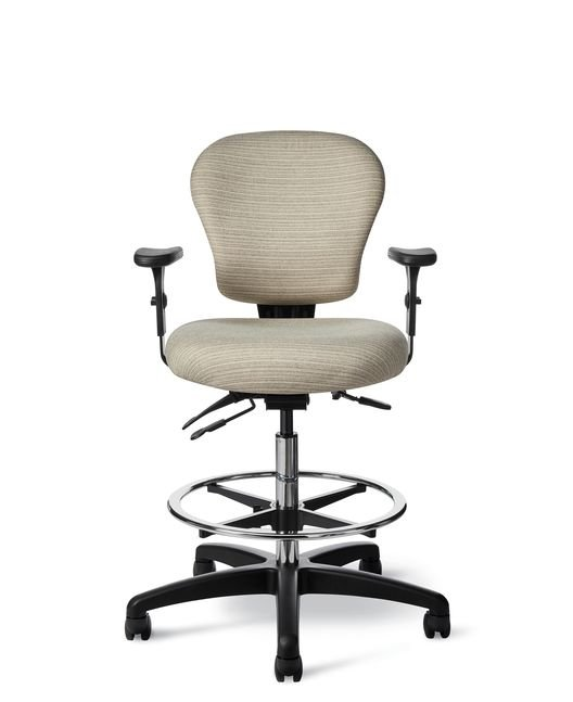 Office Master CL47 Classic Task Chair with Footring