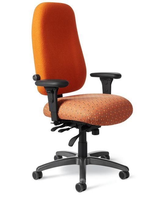 Side View - Office Master PTYM-XT Paramount Value Chair
