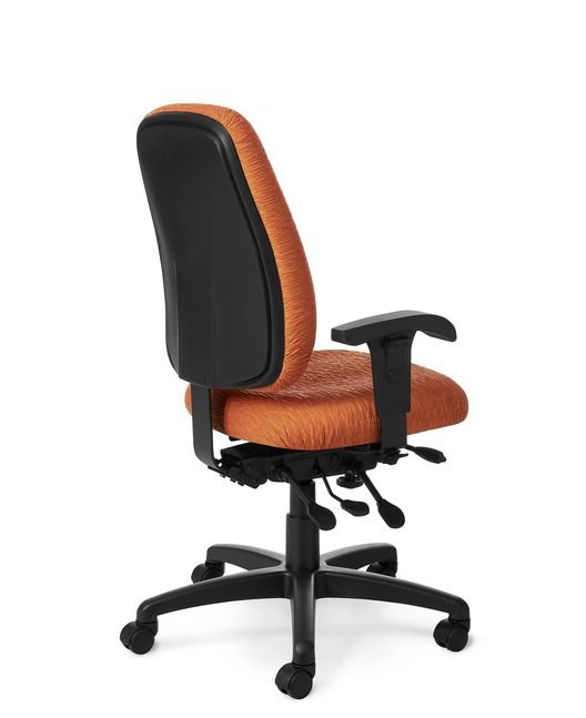 Back View - Office Master PT76N Paramount Value Large Task Chair