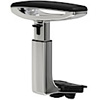 Office Master AR-485 3D adjustable arm with Polished Aluminum frame