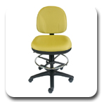 Office Master BC Series Ergonomic Adjustable Comfortable Desk Task Chair Stool Side Guest Chair
