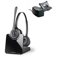 Plantronics Cs520 Hl10 Over The Head Binaural Headset With