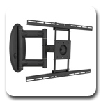 "Premier AM80 Articulating TV Swing out Wall Mount Arm up to 47"" Flat Panels"