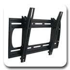 "Premier P2642T Tilting Low-Profile Wall Mount up to 42"" Flat Panel Displays"