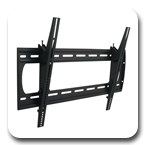 "Premier P4263T Tilting Low-Profile Wall Mount up to 63"" Flat Panel Displays"