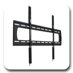 Premier P5080F Low-Profile Flat Wall Mount up to 80 inch Flat Panel Displays