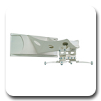 "Premier UNI-STA Universal Short Throw Projector Arm - extends 7""-27"