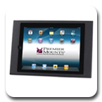 Premier IPM-100 Protected VESA (100x100 mm) Mounting Frame for iPad