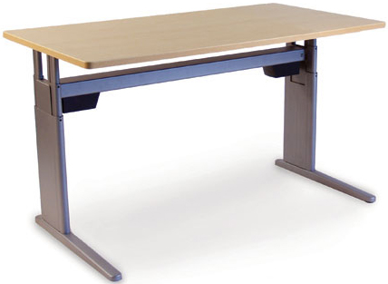 SIS Xtreme Electric Rectangle Single Surface Table and Ergonomic Desk