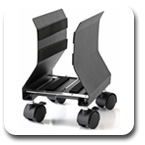 Workrite 950-B Mobile CPU Holder