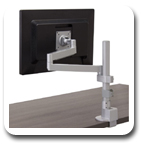 Workrite CONF-1SDS-WOPB-S Conform Single Static Monitor Arm