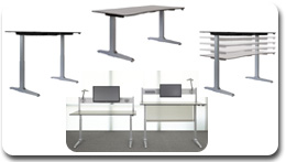 Workrite Sierra HXL Electric Height Adjustable Workstations