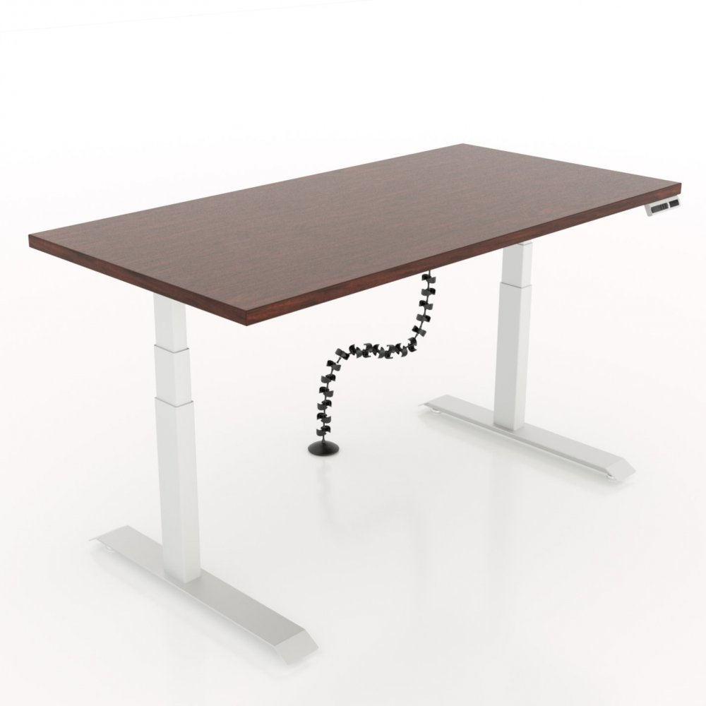 Table A Manger 3M workrite 95201 vertical wire round cable management