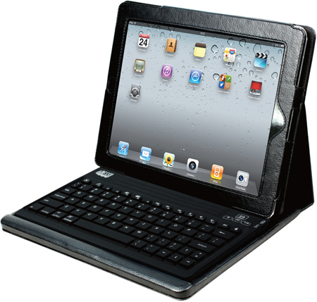 Adesso WKB-2000CD Compagno 2 Bluetooth Keyboard with Carrying Case for iPad 2
