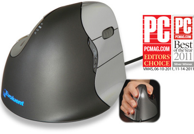 Awarded product of Evoluent VM4R VerticalMouse 4 Right Ergonomic Mouse