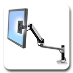 Ergotron 45-241-026 LX Desk Mount LCD Monitor Arm