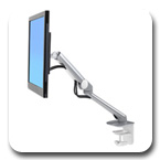 Ergotron 45-436-026 MX Mini Desk Mount Monitor Arm