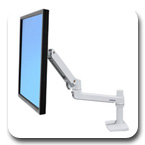 Ergotron 45-490-216 LX Desk Mount LCD Monitor Arm