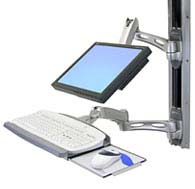 Ergotron 45-238-194 LX Wall Mount System Silver