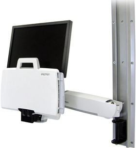 Folded image of Ergotron 45-216-216 StyleView HD Combo System White
