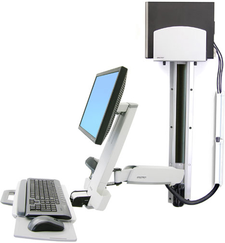 Ergotron 45-216-216 StyleView HD Combo System White