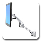 Ergotron 45-437-026 MX Mini Wall Mount Monitor Arm