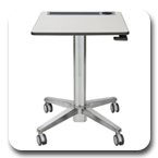 Ergotron 24-481-003 LearnFit Adjustable Standing Desk