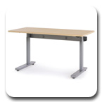 Ergotron MVBD60SS Elevate 60, Electric Sit-Stand Desk