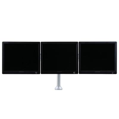 "3x 10/"" 25/"" Tilt TV Monitor Wall Mount Bracket Tilting 12.4/"" Swivel Arm Steel"
