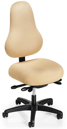Office Master DB92 Discovery Back Healthy Back Executive Performance Chair