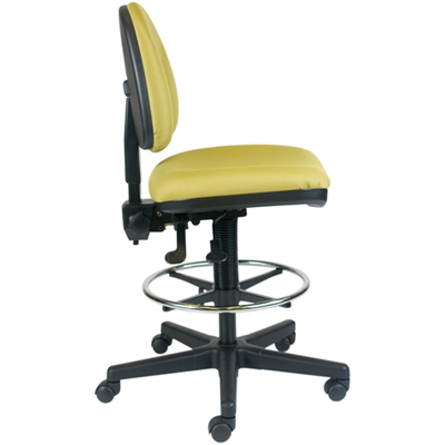 Side View - Office Master BC45 Budget Stool