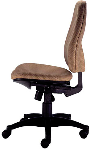 Office Master GL68EZ Glenworth Mid Back User Friendly Ergonomic Task Chair