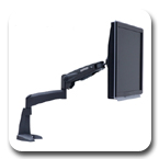 Peerless LCT-101 LCD Desktop Articulating Mount