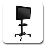 Peerless SR560M Flat Panel Display TV Cart for LCD Screens SR560 M