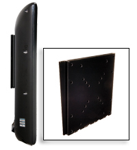 "Peerless PF-632 Universal Flat Wall Mount Black for 10""-37"" Screen"