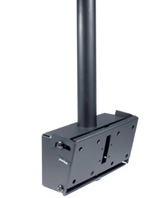 Peerless PLCM-1 Ceiling Mount with extension column and tilt box